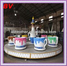 Happy Indoor Entertainment for children,24 seats tea cup rides