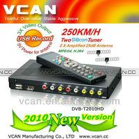 DVB-T2010HD Auto HD DVB-T Digital TV Receiver Box Support HE-ACC/H.264/AVC Video Decode