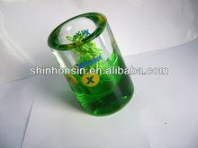liquid floating magnetic clip dispenser pen holder