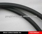 carbon bicycle rim 20mm tubular,rims carbon road tubular in black with 3k/12k/UD
