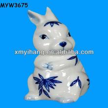 ceramic make white porcelain animals big