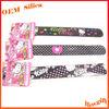 Top Quality LOGO Colorful Printed Customized LOGO Reflective silica gel slap band
