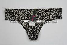 2013 Leopard Print Seamless Sexy Ladies G-string