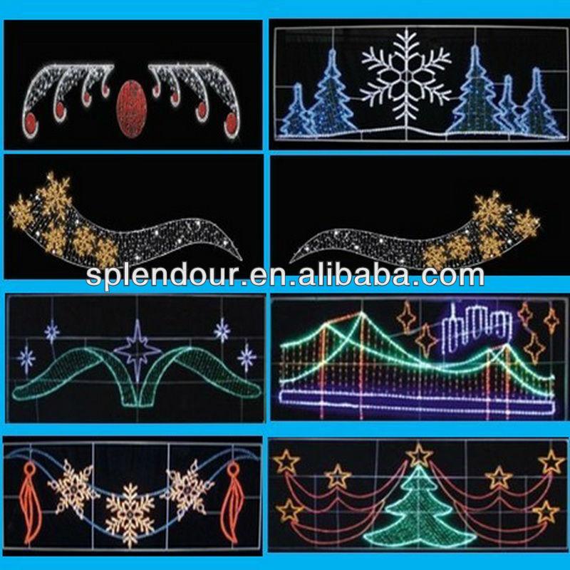 Reasonable price LED street motif light /LED motif light/LED project light