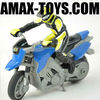 rm-060014 toy mini motorcycle 1:43 Four channels Mini Infrared Remote Control Stunt Motorcycle(Blue/Orange/Yellow)