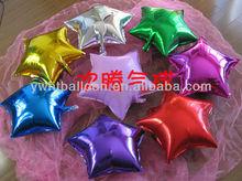 2013 Popular Party Foil Balloon/ metallic star foil baloon/Adult Party Balloon