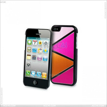 Drawing Aluminum Sheet + PC Hard Protector Case cover for iphone5 P-IPH5PC134