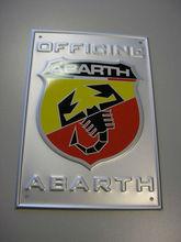 3d Metal Logo Stickers/Labels