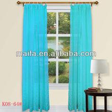100% Polyester Rod Pocket Plain Jacquard Canopy Bed Curtains kids leiho tratamenduak