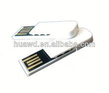Book clip ultra mini usb flash drive