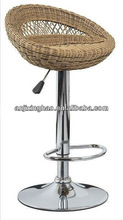 2012 new design simple style rattan material comfortable bar stool XH-561