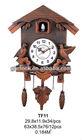 2013 New Style Wood Color Cuckoo Wall Clock.....(TF11)
