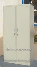 Two Door Metallic Clothing Wardrobe Storage