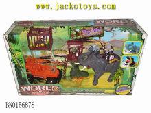 Forest animal set plastic toys