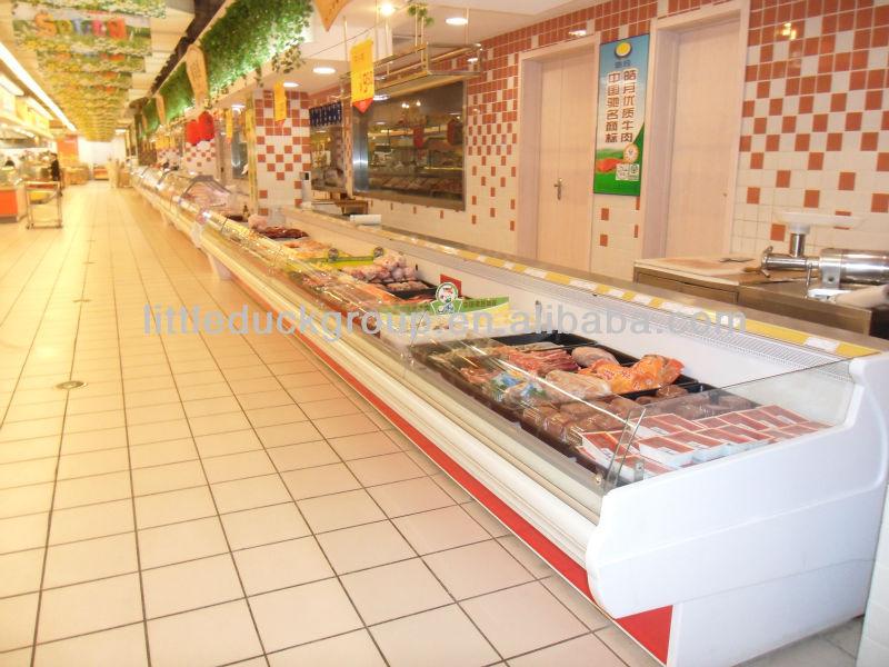 littleduck refrigerador vitrina para la carne