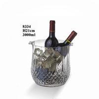acrylic ice bucket/acrylic ice tong/streak/diamond/beer/with handle/clear #8334-8095