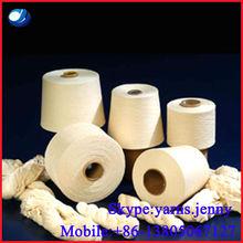 100% Polyester yarn Spun Dyed yarn 18s-50s