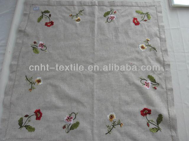 desenhos de flores de bordar toalha de mesa
