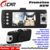 "1080p full hd Night Vision 2.7""LCD dual lens car camera recorder pro"