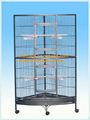 metal bird gaiolas do papagaio com suporte grande gaiola do papagaio