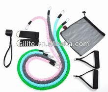 latex traning exerciser tube kit