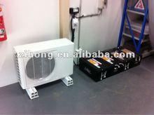 2013 newest type 100% solar air conditioner,split type air conditioner,with solar panel solar battery