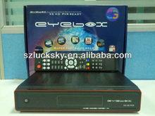 DVB-S2 HD factory,EYEBOX X5,openox x5 In Stock .Sunplus1512 Chip digital receiver ,USB WIF, Youtobe.gmail .IPTV