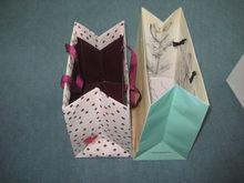Fancy paper Gift bag/Luxury paper shopping bag