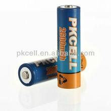 high energy rechargeable battery 1.2v aa 2600mah