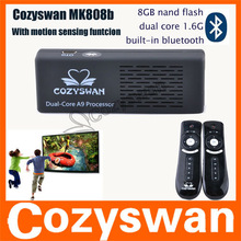 Cozyswan mk808 supporto motion sensing giochi! Google android tv player 4.1 mk808 mk808 pc