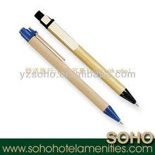 5 star hotel plastic new uni ball pen