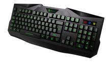 2013 New Design USB Backlit LED Ergonomic Illuminated Gaming Keyboard