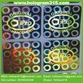 tailandia etiqueta de holograma para muebles