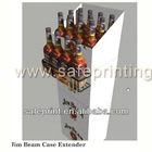 spirits promotion/alcohol illuminator/beer stand/drink holder/mineral water rack/liquor wine bottle glorifier/beverage display