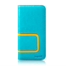 Flip Leather case for iPhone 5 smartphone with card holder wallet case for iPhone5 5G