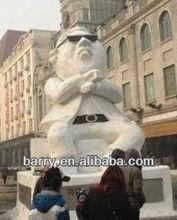New Design Custom inflatable gangnam style man model,PVC model,inflatable advertising