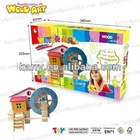 DIY WOODEN HOUSE EDUCATIONAL TOYS FOR CHILD