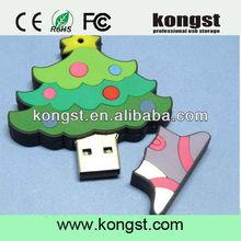 unique christmas tree usb flash memory as gift