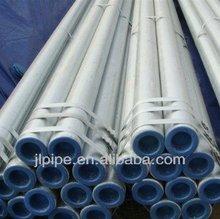 Different sizes hot dip galvanized steel pipe India export to dubai