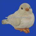 Navidad de cerámica pájaros blancos