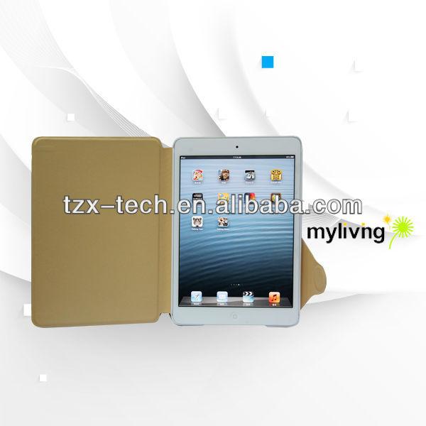 PU & PC case for ipad mini