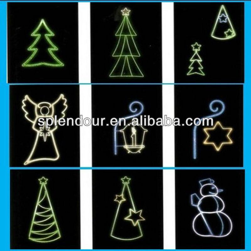 Waterproof LED Christmas motif light/LED star light/LED motif light