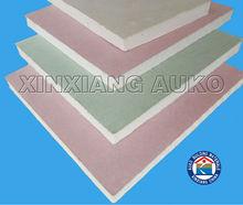 water/fire proof, sound insulation 12mm plasterboard(AK-FD)