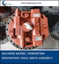 excavator final drive gear box kawasaki hydraulic motor