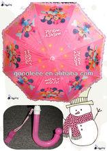 whistle mickey and minnie kids umbrella