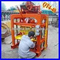 Hot Sale!! QT4-40 Sand cement block making machine