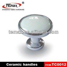 Porcelain Cabinet Knob Round Handle Of Door