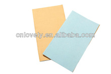 Two layers composite nonwoven car cleaning cloth