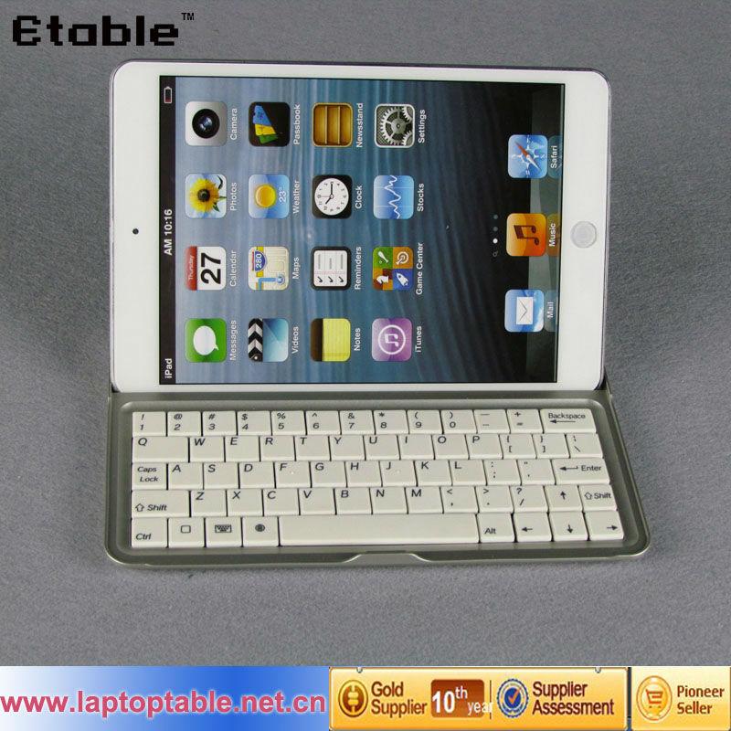 Beautiful appearance wireless bluetooth keyboard for iPad mini