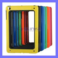 Colored Thin Silicone Bumper Frame For iPad Min